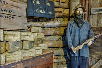 Gold Mine Museum Characters